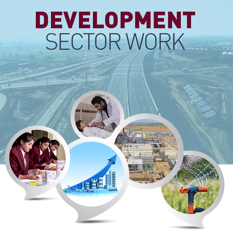 Development Sector Work
